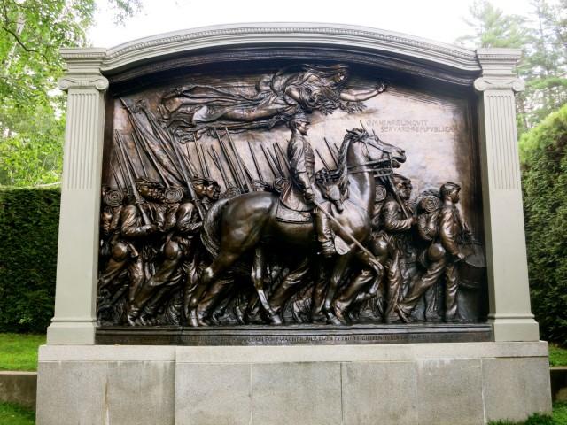 Shaw Memorial, Saint Gaudens National Historic Site