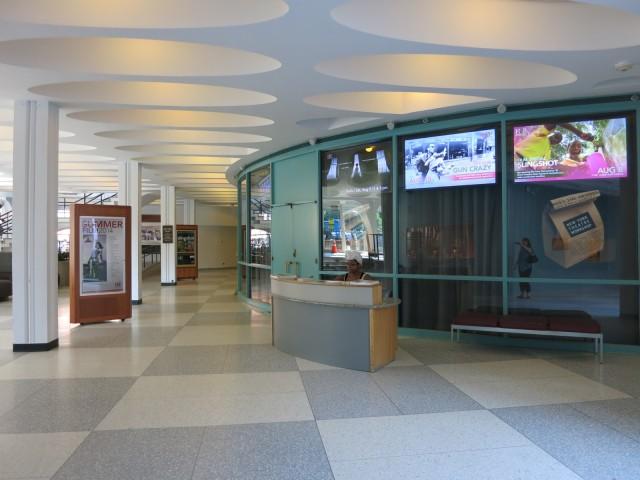 The Hopkins Center, Dartmouth, Hanover NH