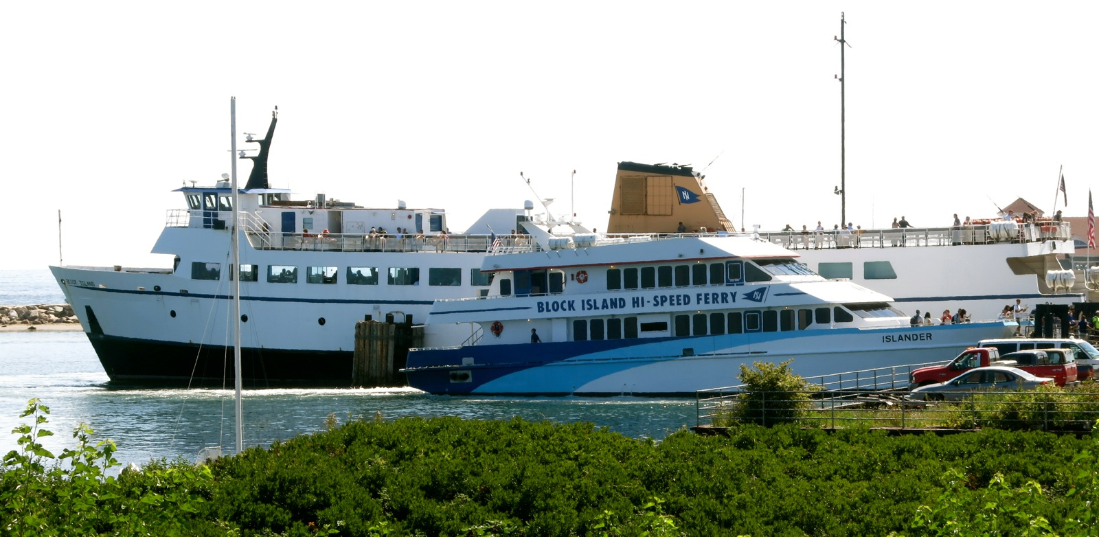 How Long Is The High Speed Ferry To Block Island