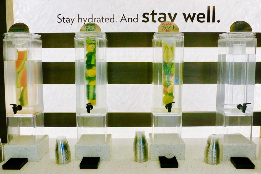 Flavored Water EVEN Hotel Norwalk CT
