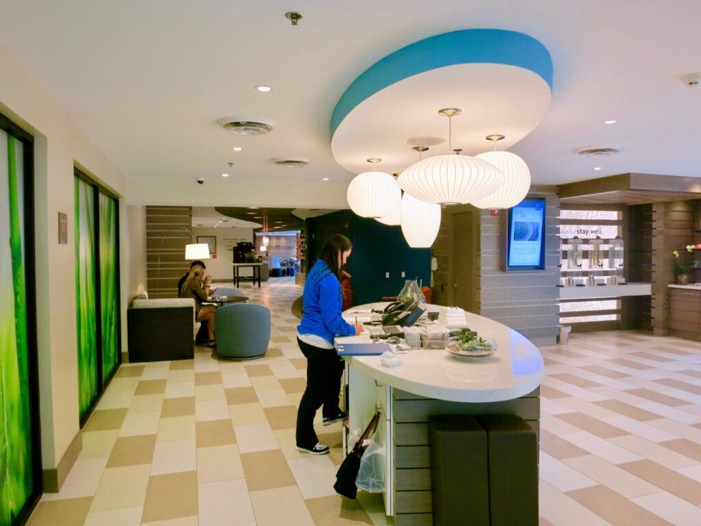 Lobby EVEN Hotel Norwalk CT