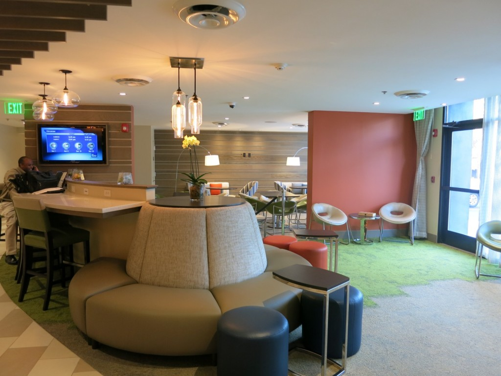 Lobby and Cork & Kale Restaurant at Even Hotel Norwalk CT