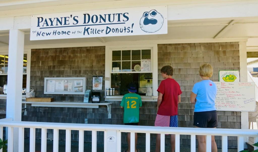 Paynes Killer Donuts, Block Island