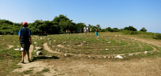 Sacred Labyrinth, Block Island