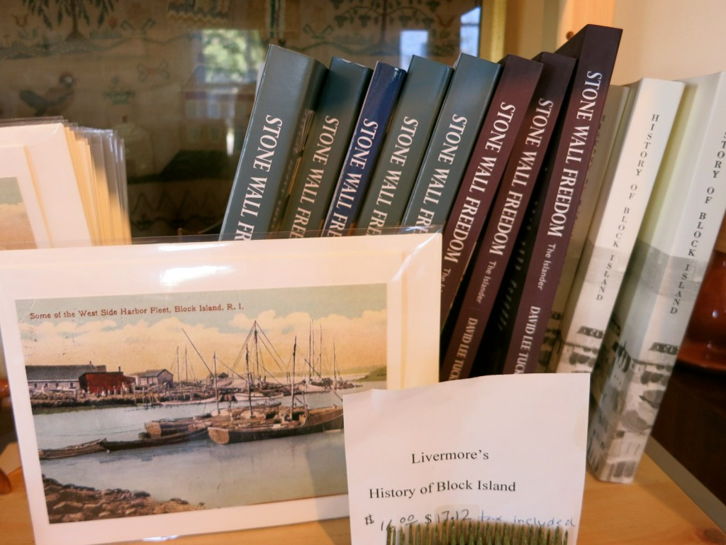 Stone Wall Freedom Series, by David Tucker at Block Island Historical Society