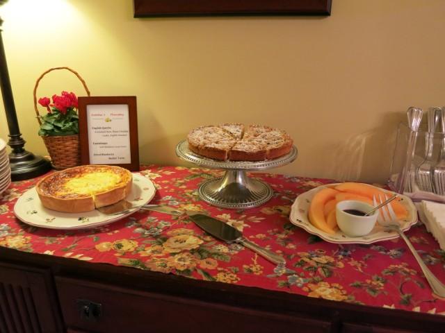 Carlisle House Breakfast