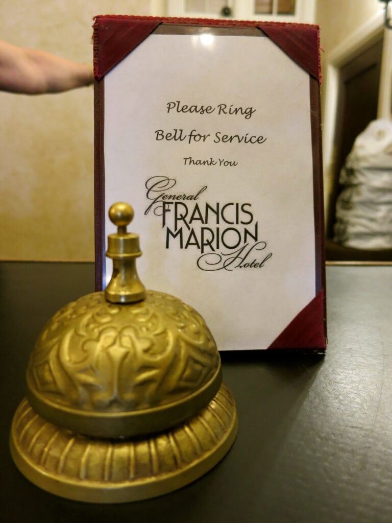 Ring In Bell General Francis Marion Hotel Marion VA