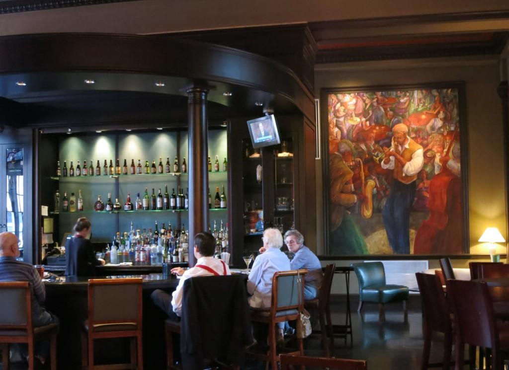 Bar at George Washington Hotel, Winchester VA