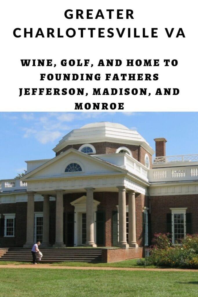 Charlottesville Thomas Jefferson Pin