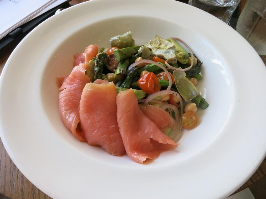 Smoked Salmon Salad at Home 231, Harrisburg PA