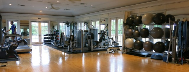 Keswick Hall Fitness Room
