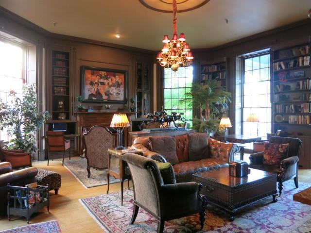 The Martha Hotel Library