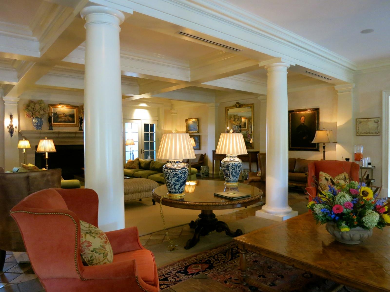 Keswick Hall Lobby