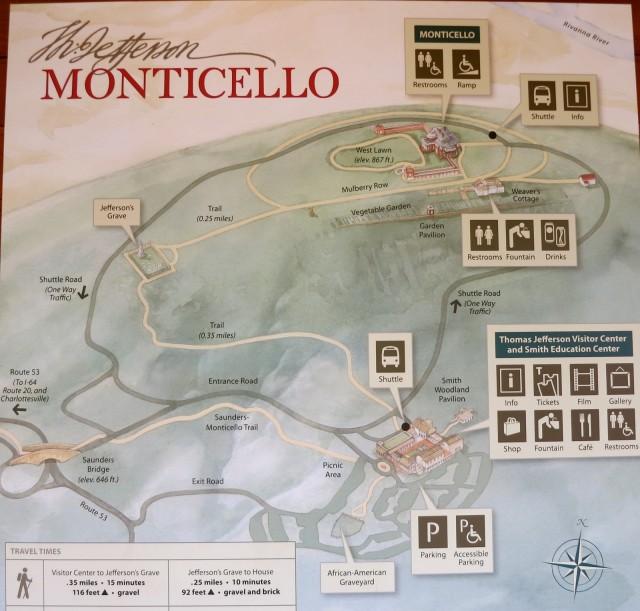 Monticello Map