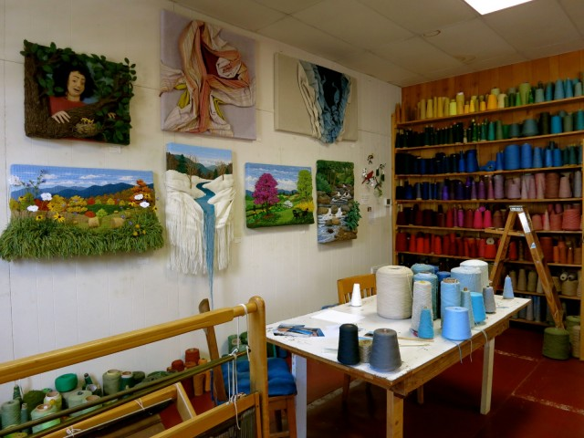 Nancy Garretson 3-D Tapestries, Abingdon VA