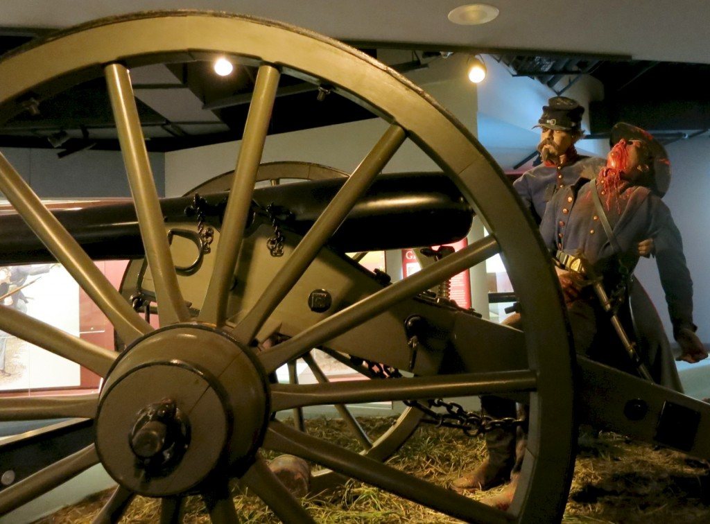National Civil War Museum Gory Exhibits