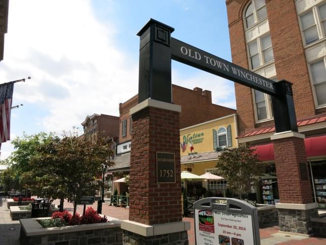 Old Town Pedestrian Mall, Winchester VA
