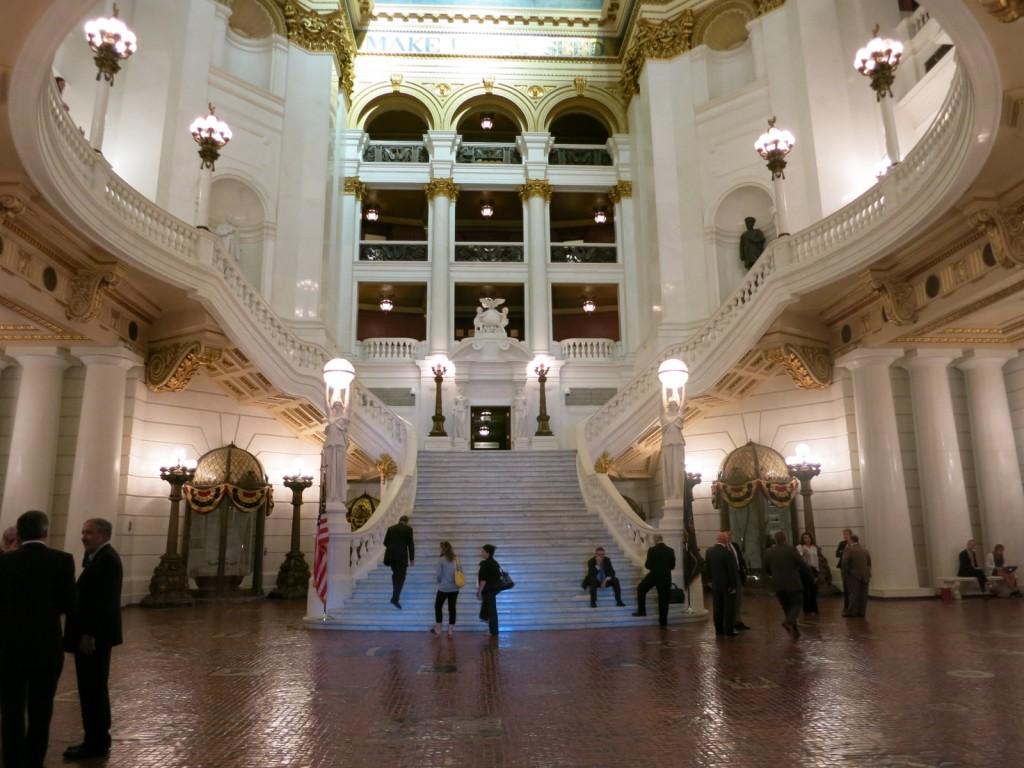 PA Capitol Entrance