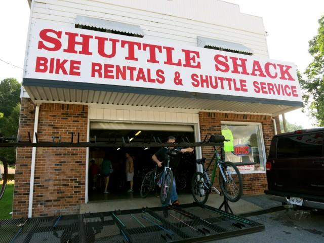 Shuttle Shack, Damascus VA