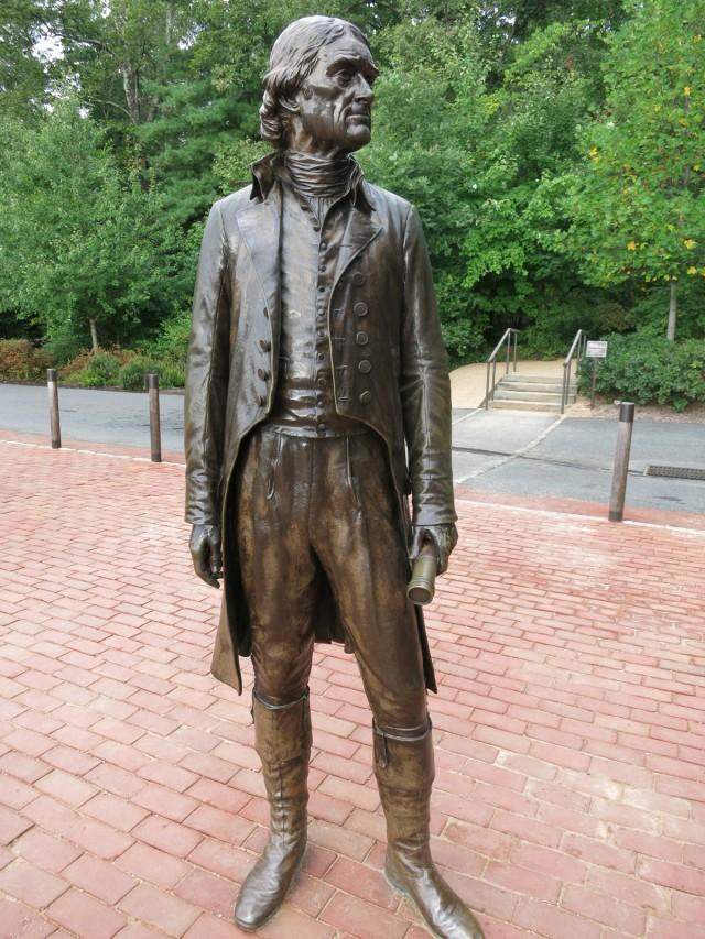 Thomas Jefferson bronze