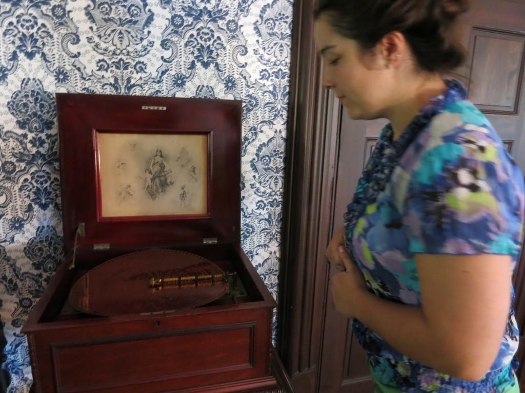 Victorian Music Box at Fort Hunter Mansion, Harrisburg PA