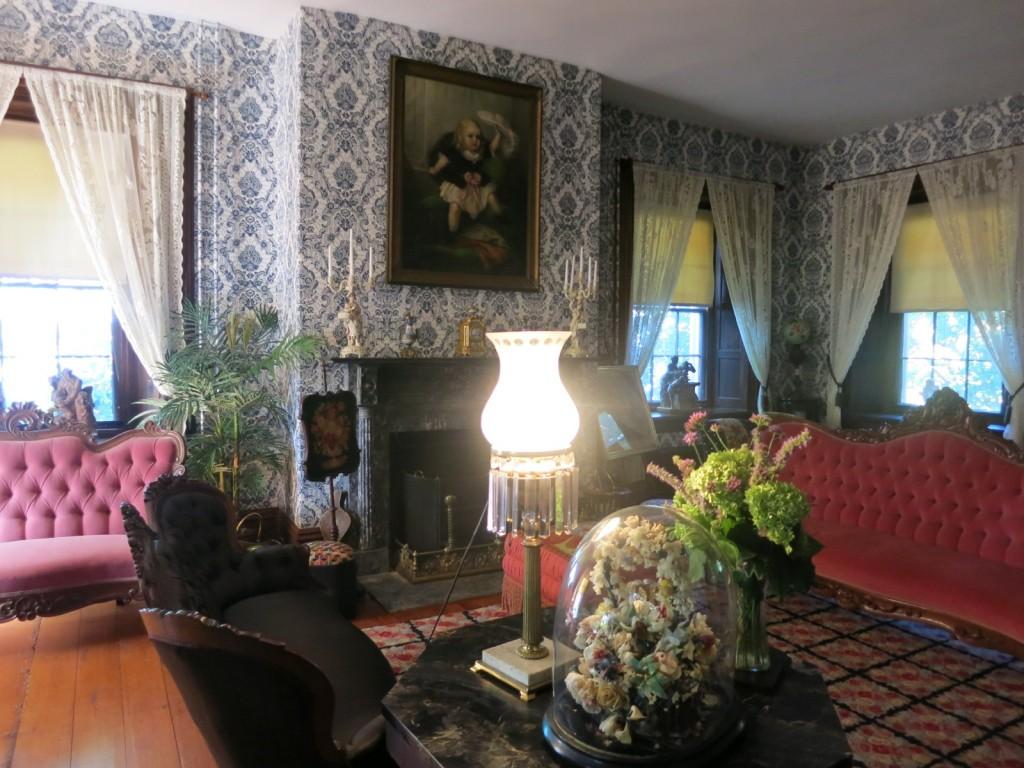 Victorian Parlor at Fort Hunter Mansion, Harrisburg PA
