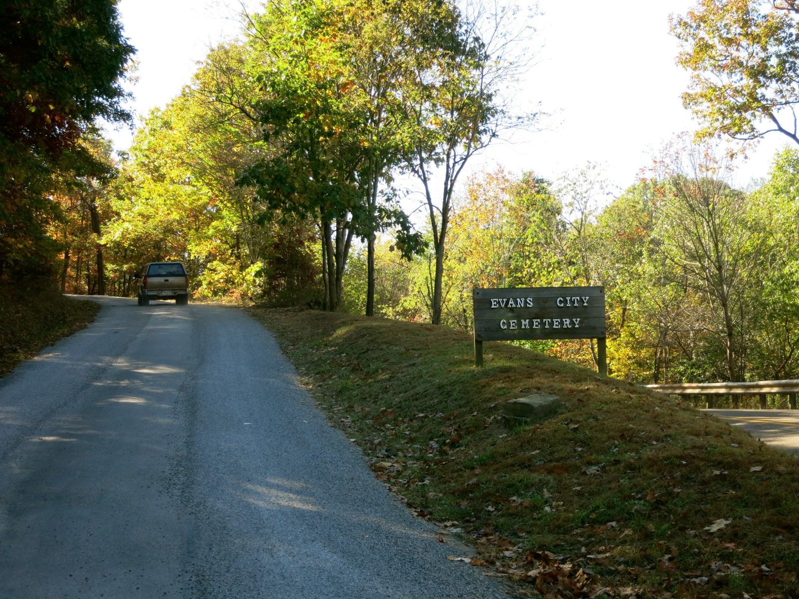 Zombie Town- Evans City Cemetery