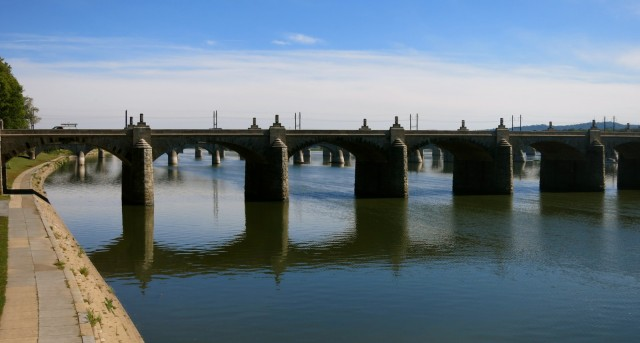 series of stone bridges, Harrisburg
