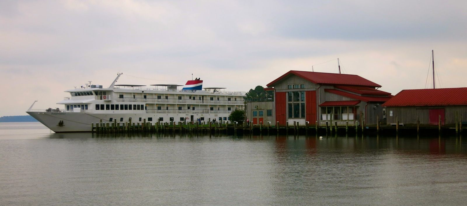 American Cruise Lines Review - Parking at baltimore cruise ship terminal