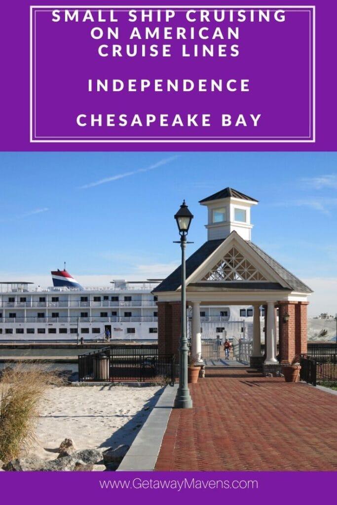 American Cruise Line Chesapeake Pin