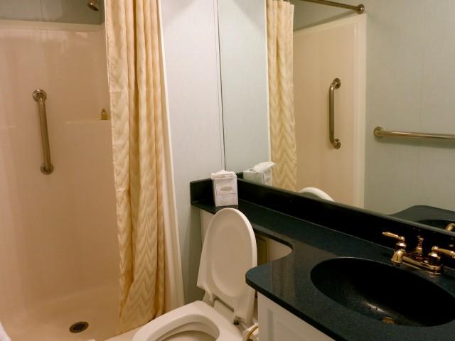 Hotel-sized bathrooms