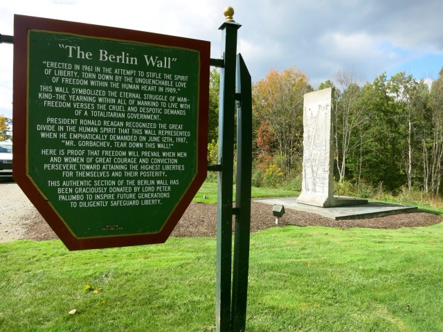 Berlin Wall at Nemacolin Resort