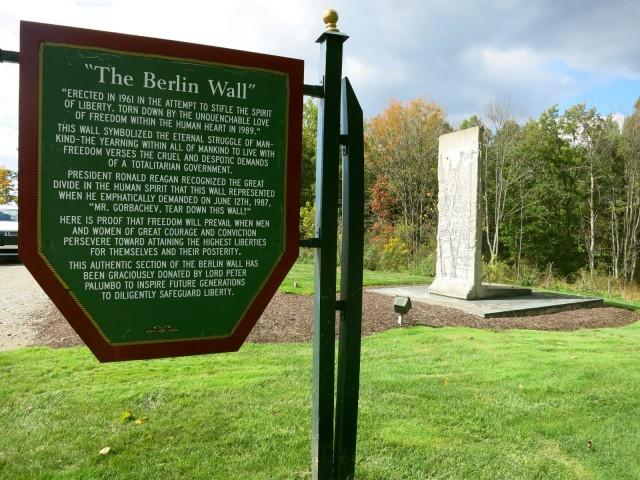 Berlin Wall at Nemacolin Resort