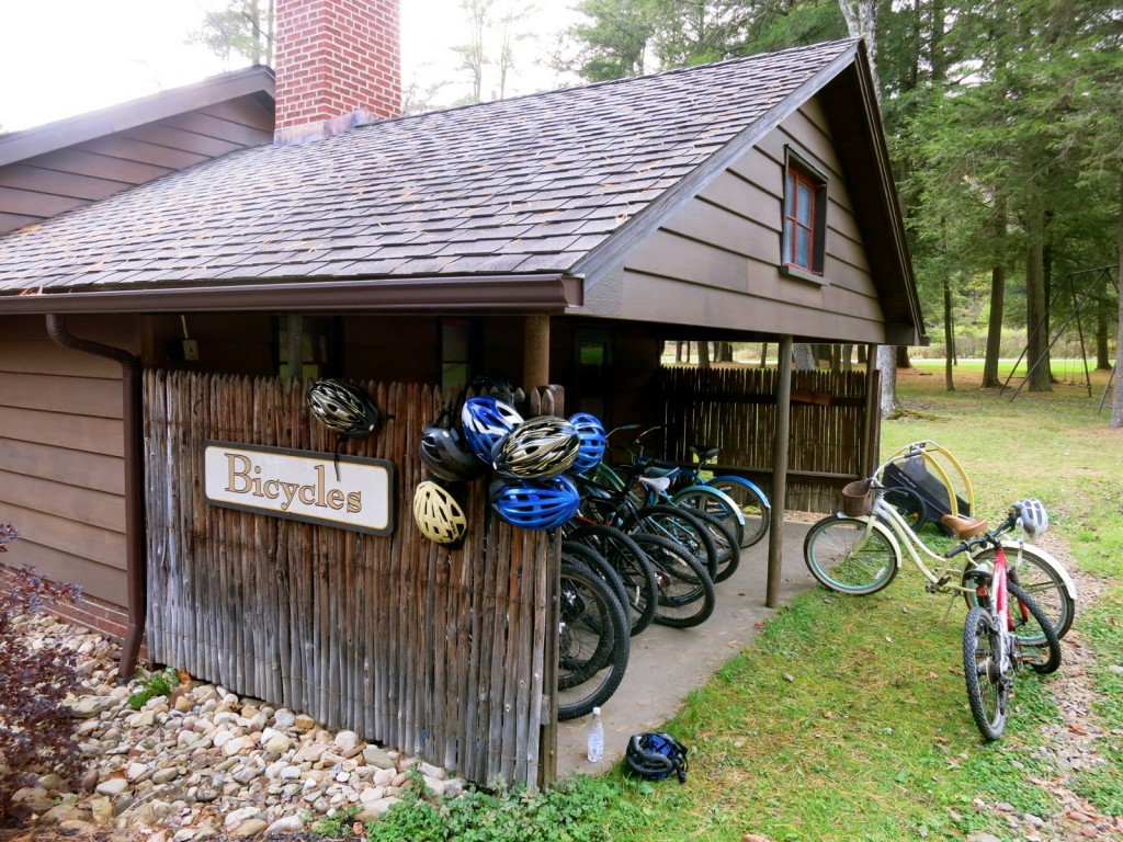 Bicycles at Lodges and Glendorn