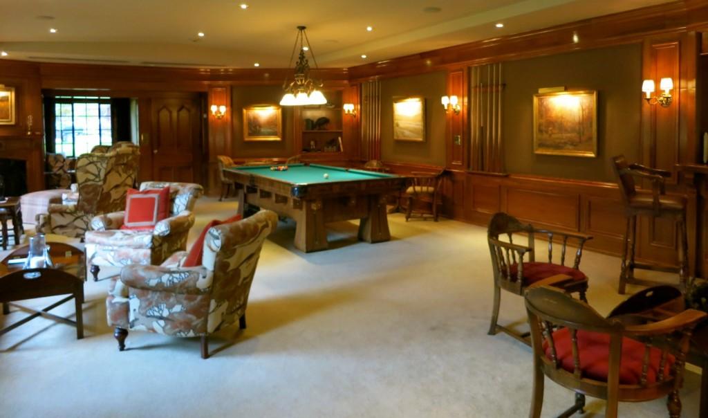 Billiards Room, Lodges at Glendorn, Bradford PA