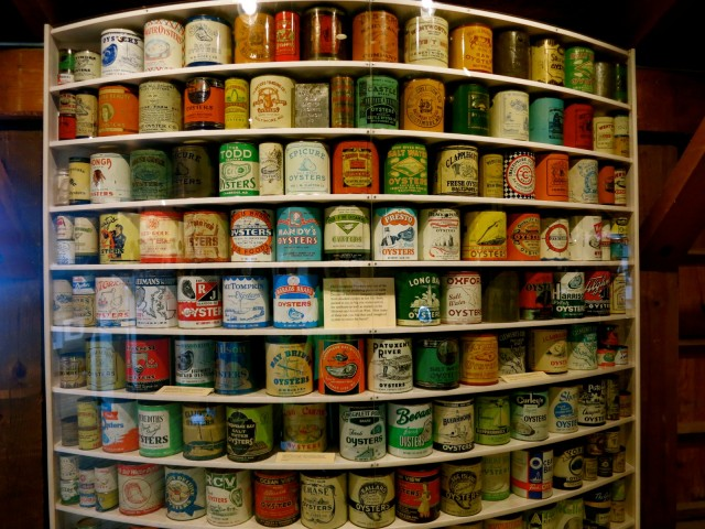 Cans of Oysters, St. Michaels, MD