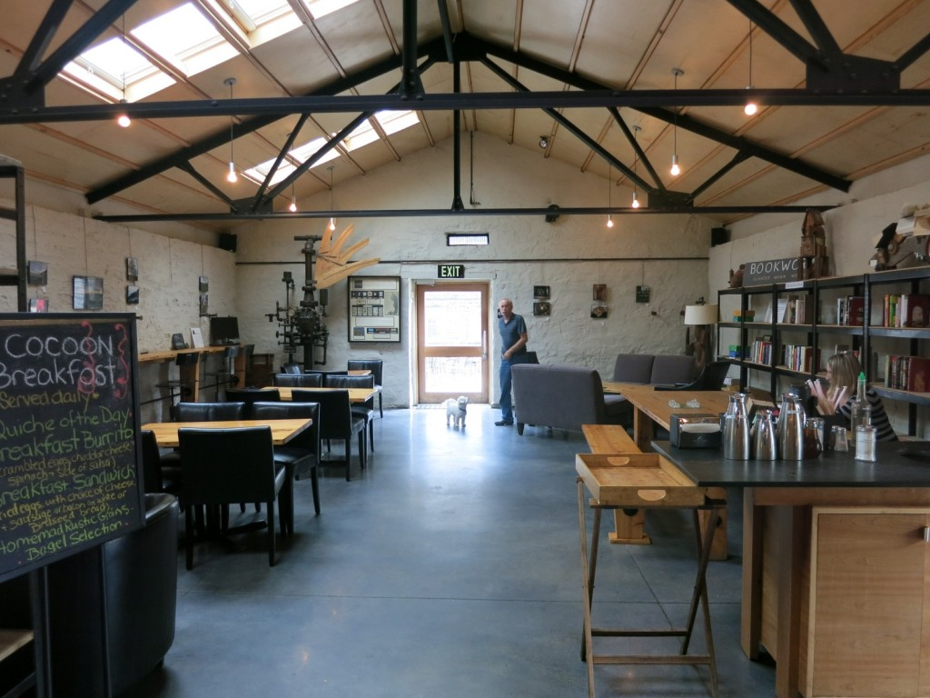 Cocoon Coffee House at Hawley Silk Mill