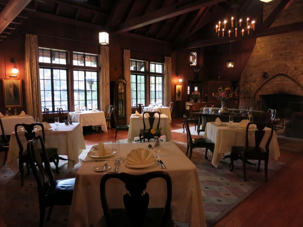 Dining Room, Lodges at Glendorn, Bradford PA