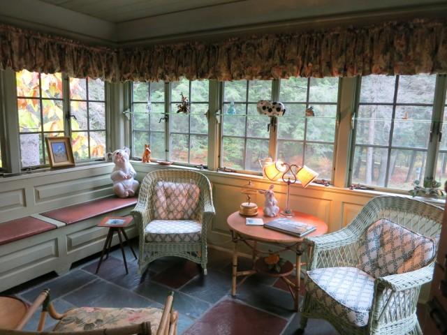 Dorn Suite Patio, Lodges at Glendorn