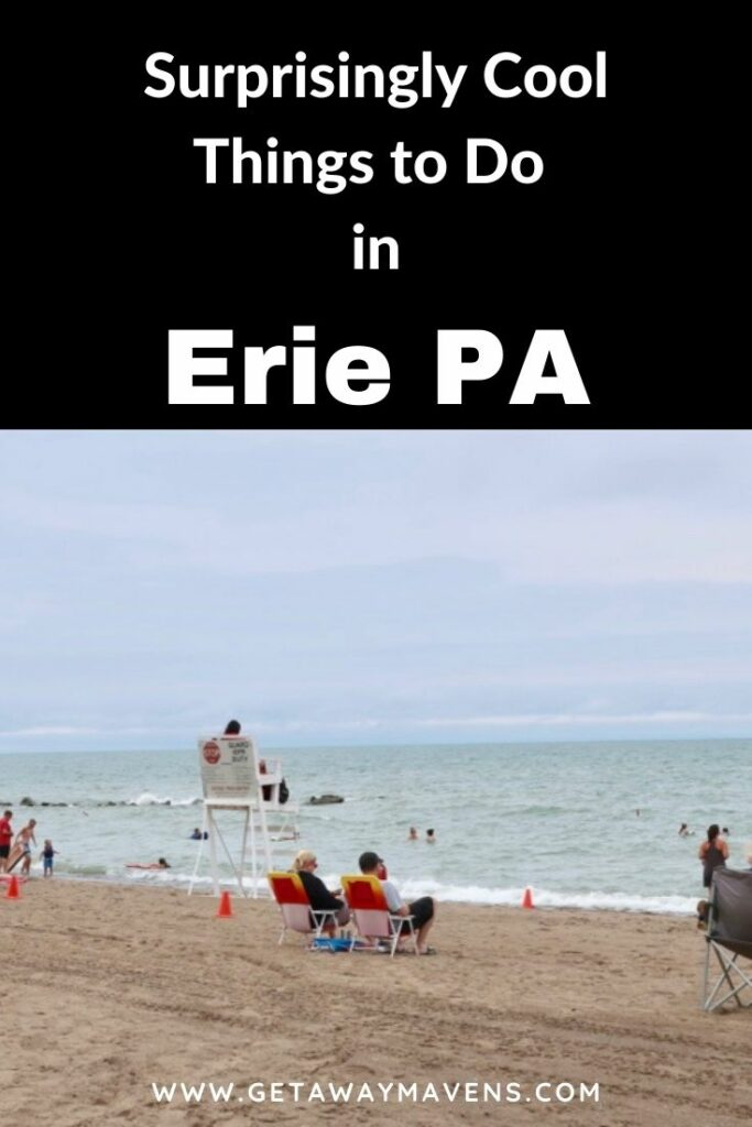 Erie PA Cool Things for Visitors Pin