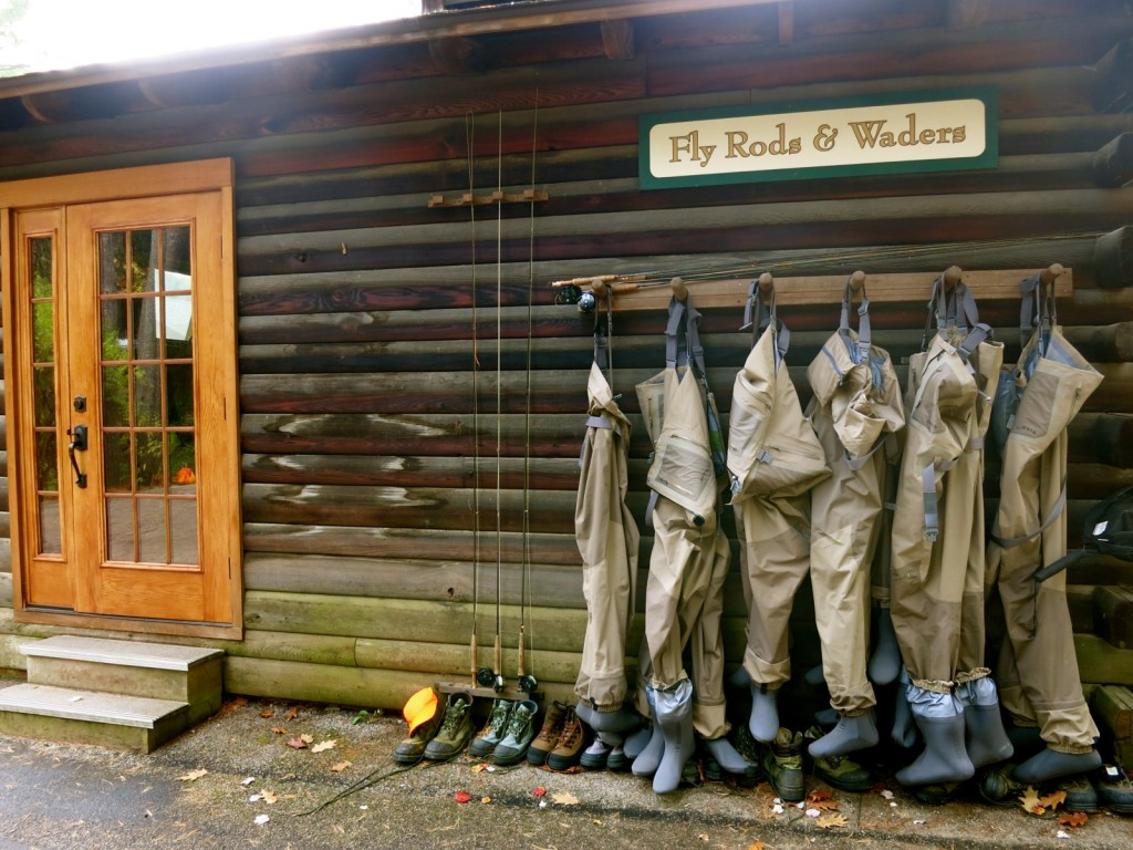 Fly Rods and Waders, Lodge at Glendorn