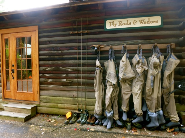 Fly Rods and Waders, Lodges at Glendorn