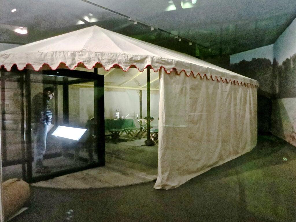 George Washingtons Field Tent Yorktown VA