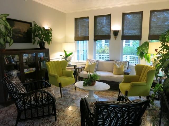 Hotel Fauchere Enclosed Porch