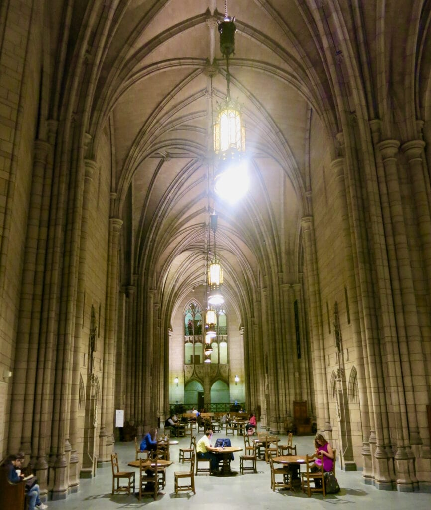 Interior Cathedral of Learning U Pitt PA