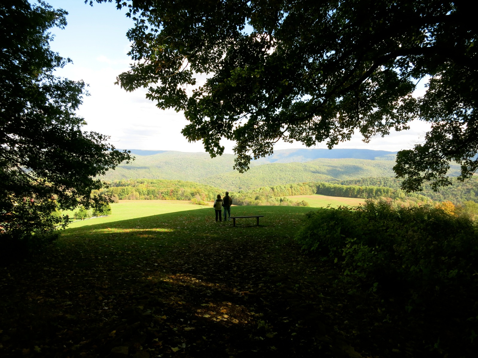 Kentuck Knob mountain view