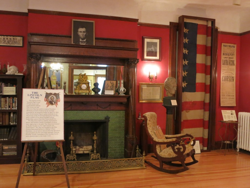 Lincoln Flag Room, Pike County Historical Society Milford PA