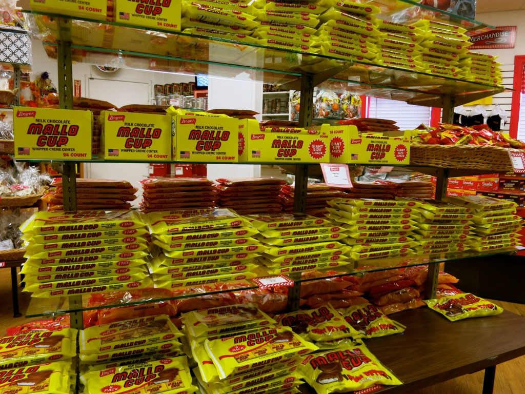 Mallo Cup at Boyer Candies