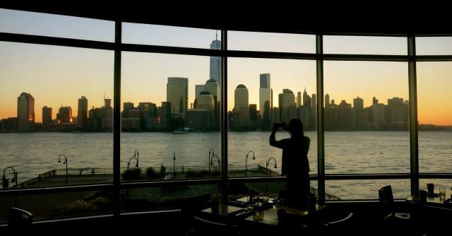 Manhattan view from Hyatt Jersey City