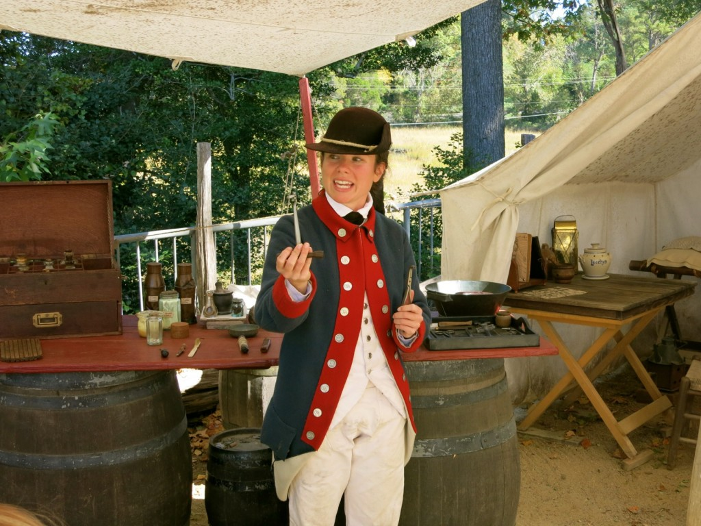 Medical Tent at Army Encampment Yorktown Victory Center